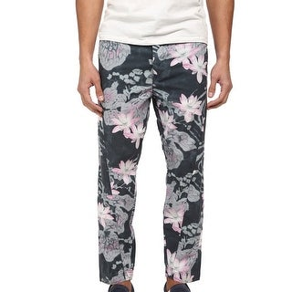 Armani Jeans NEW Green Mens Size 30X27 Floral Drop-Crotch Pants