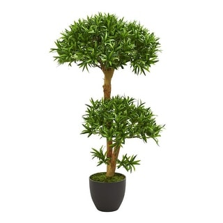 Link to Nearly Natural Home Decorative 3' Bonsai Styled Podocarpus Artificial Faux Tree - Not Available Similar Items in Decorative Accessories