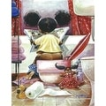 ''Crossword Puzzle'' by Frank Morrison African American Art Print (22.5 x 18 in.) - Thumbnail 0