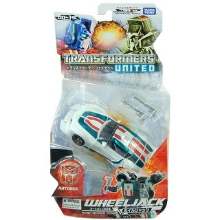 Transformers Un19 United Wheeljack Figure - multi