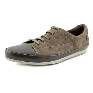 Clarks Lorry Grace Women Round Toe Leather Brown Sneakers