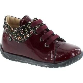 Naturino Girls 4166 Falcotto First Walker Fashion Booties - Burgundy