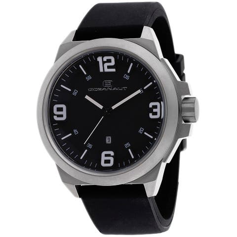 Oceanaut Men's Armada OC7117 Black Dial Watch