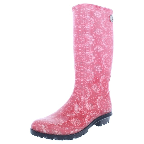 a8b01e154fe Shop Ugg Womens Shaye Rain Boots Waterproof Wellies - 10 Medium (B