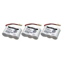 Replacement Battery For VTech BT17233 / BT27333 Battery Models (3 Pack)