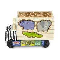 Melissa & Doug 5180 Animal Rescue Shape-Sorting Truck