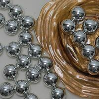 "60ct Silver Splendor Shatterproof Shiny Christmas Ball Ornaments 2.5"" (60mm)"