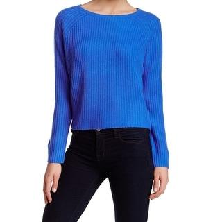 360 Cashmere NEW Blue Women's Size Large L Crewneck Cashmere Sweater