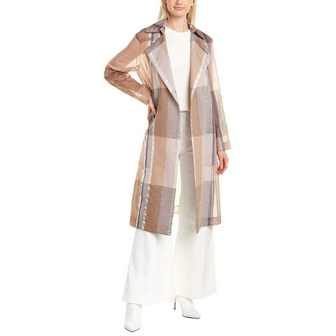 Lafayette 148 New York Evangelina Trench Coat