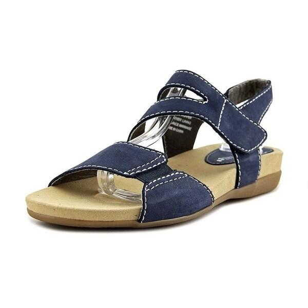 David Tate Squish Women Navy Sandals