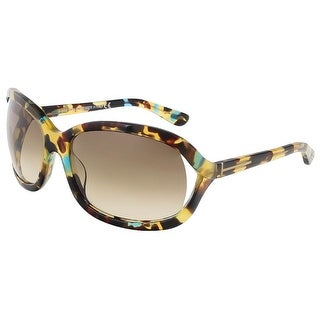 Tom Ford FT0278/S 55W Vivienne Tokyo Tortoise Oval Sunglasses