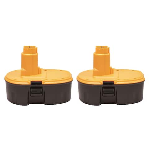 Factory Essentials Replacement for Dewalt DC9096 3.0Ah 18V Battery DC9098 DC9099 - 2 Pack
