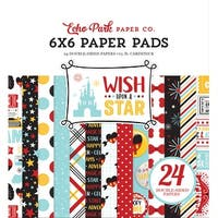"""Echo Park Double-Sided Paper Pad 6""""X6"""" 24/Pkg-Wish Upon A Star, 12 Designs/2 Each"""