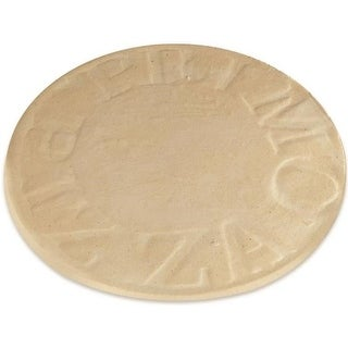 "Primo 340 Porcelain Glazed Pizza Baking Stone, 13"""
