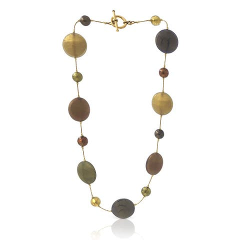Work of Artisans Earth Collection - Murano Glass Necklace