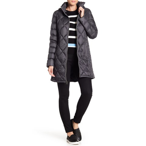 Lucky Brand Women's Plus Quilted Zip Front Jacket