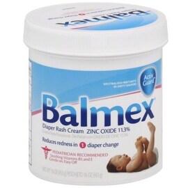 Balmex Diaper Rash Cream With Zinc Oxide 16 oz