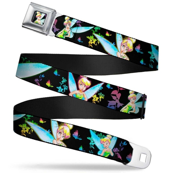 Glowing Tinker Bell Pose Full Color Glowing Tinker Bell Poses Butterflies & Seatbelt Belt