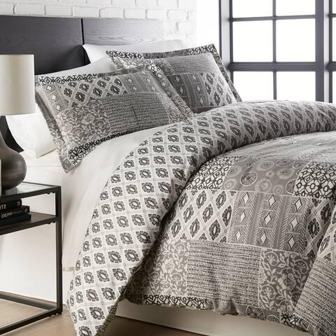 Global Patchwork Down Alternative Comforter and Sham Set