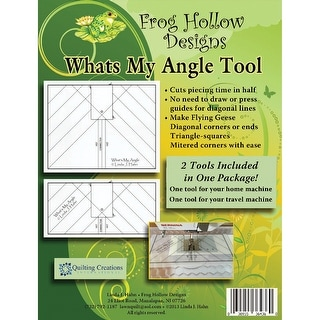 What's My Angle Tool Template-