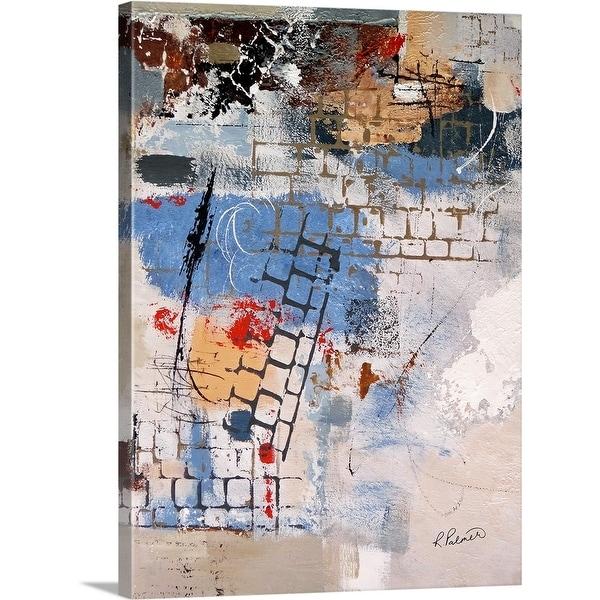 """Breaking Down Walls I"" Canvas Wall Art"