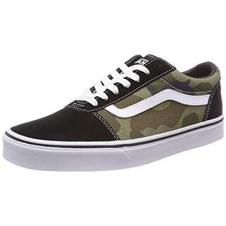 Vans Men'S Ward Canvas Low-Top Sneakers, Multicolour ((Camo) Multi/Black U2i), 6 Uk 6 Uk