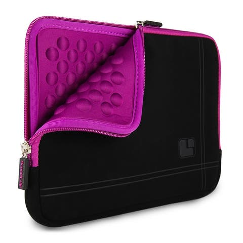 Microsuede Slim 8 inch Sleeve Case Tablet eReader Carrying Pouch
