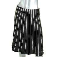 Lauren Ralph Lauren Womens Scylla A-Line Skirt Knit Striped