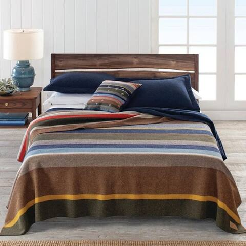 Pendleton Bridger Stripe Queen Blanket