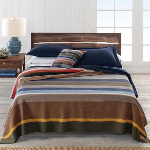 Pendleton Bridger Stripe Twin Blanket