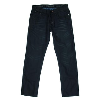 Royal Premium Mens Jackson St Coated Slim Straight Leg Jeans - 33/32