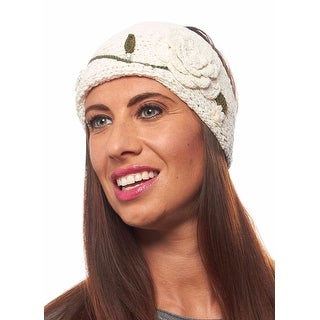 Premier Pansy Knit Winter Headband