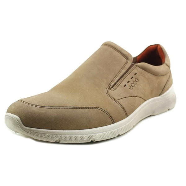 Ecco Irondale Men Round Toe Leather Tan Loafer