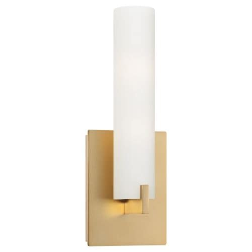 Kovacs P5040-248 1 Light ADA Compliant Wall Sconce in Honey Gold from the Tube Collection