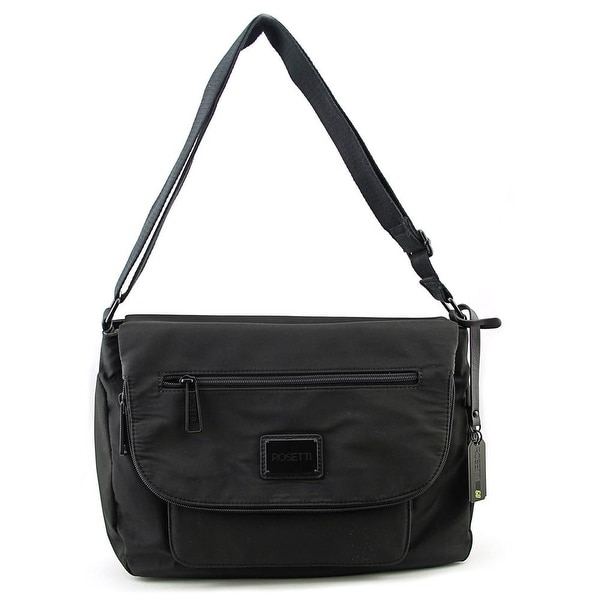Rosetti Cool And Collected Large Crossbody Women Synthetic Messenger - Black