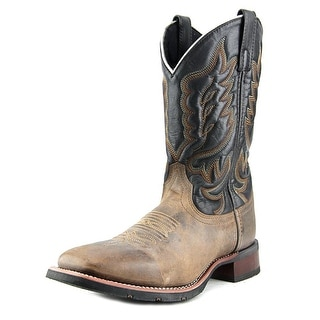 Laredo Stockman   Square Toe Leather  Western Boot