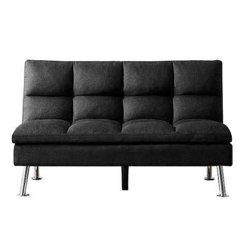 LUXMOD Relex Lounge Futon Sofa Bed Sleeper Fabric