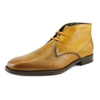 Tod's Polacco Cuoio Classico Tz Round Toe Leather Oxford