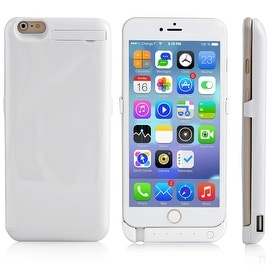Indigi® 10000mAh PowerCase WHITE Rechargeable Battery Case iPhone 6 Plus/6S Plus