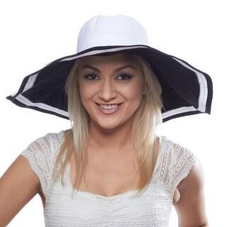 Santa Anita Star Two Tone Derby Hat