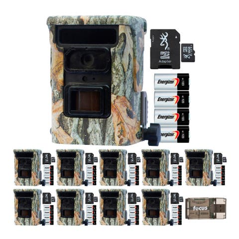 """Browning Defender 940 20MP Trail Camera 10-Pack w/ Cards and Batteries - 4.5"""" x 3.2"""" x 2.2"""""""