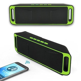 Indigi® HOT GIFT! HiFi Portable Wireless Bluetooth Stereo Speaker Dual FM Speaker phone