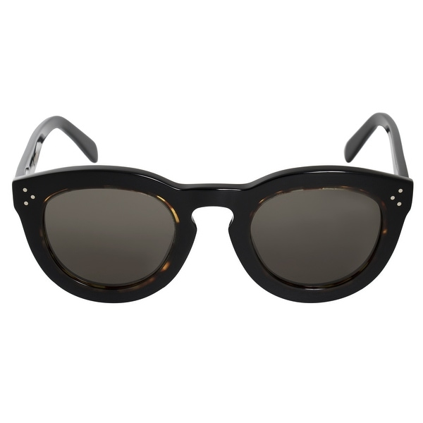 7b51a55a03d Shop Celine Round Sunglasses 41403S T7D 70 48 - Free Shipping Today ...
