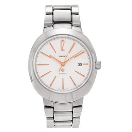 RADO Men's R15329113 'D-Star' Stainless Steel Automatic Link Watch