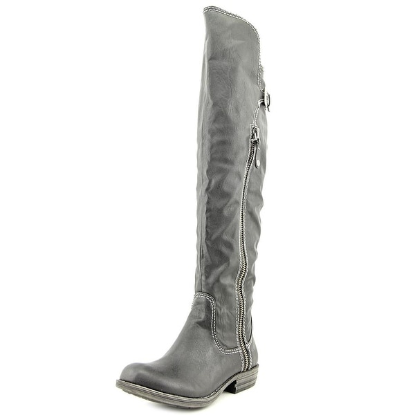 American Rag Duncan Women Round Toe Synthetic Black Over the Knee Boot