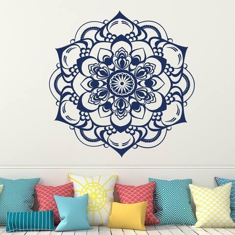 Mandala Bohemian Wall Decal