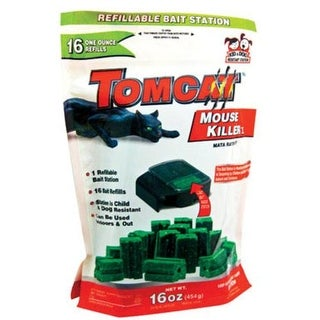 Tomcat 22486 Refillable Mouse Bait Station