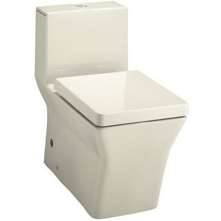 Kohler K-3797 One-Piece Elongated Toilet with Dual Flush Technology from the Reve Collection