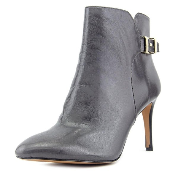 Nine West Palafox Round Toe Leather Bootie