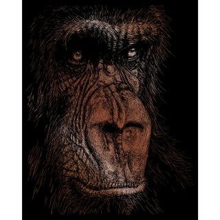 "Copper Foil Engraving Art Kit 8""X10""-The Wise Simian - the wise simian"